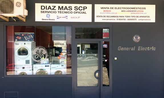 Servicio Tecnico Oficial General Electric Madrid DIAZ MAS SCP